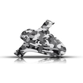 "Riesel Design schlamm:PE Front Mudguard 26-29"" camo MK II"
